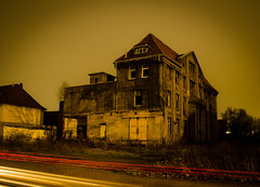 Alte Fabrik (180Pixel) Tags: fabrik alte langzeitbelichtung rehme