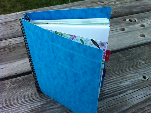 """brandie's book"" from handmade home"