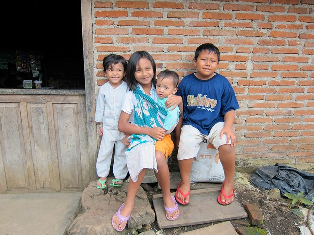 Local Kids In Kalibaru