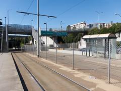 Muni (blech) Tags: sanfrancisco muni stop glenpark jchurch