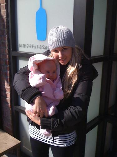 stella's first visit to blue bottle in brooklyn