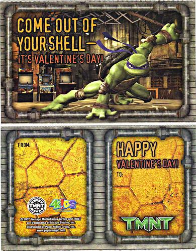 "PAPER MAGIC GROUP :: ""TMNT"" -  Random Valentines ii (( 2007 ))"