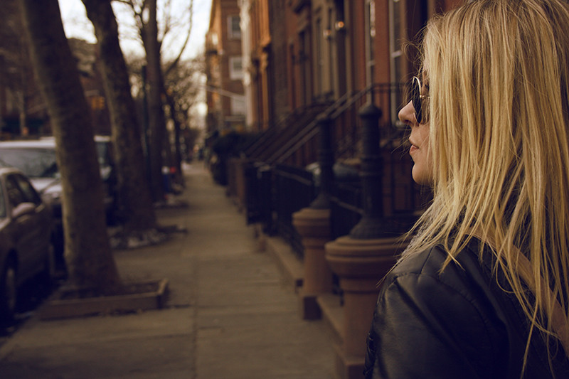 Sandra i Brooklyn