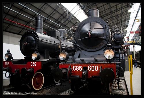 Museo Leonardo Da Vinci - Locomotive