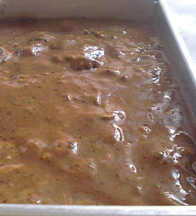 zucchini eggless brownie