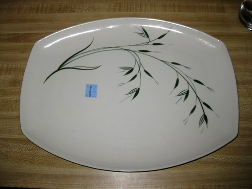 Winfield China Oats pattern small platter