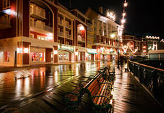 Boardwalk Nights (Jeff_B.) Tags: usa night newjersey orlando epcot florida disney disneyworld shore jersey waltdisneyworld 2010 yachtclub dvc beachclub crescentlake newjerseyshore shoretown boardwalkhotel boardwalkresort epcotresortarea