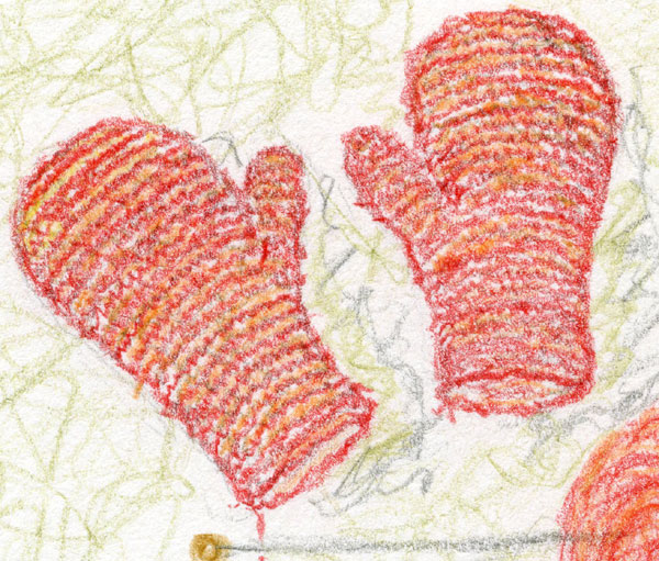 Sally's mittens