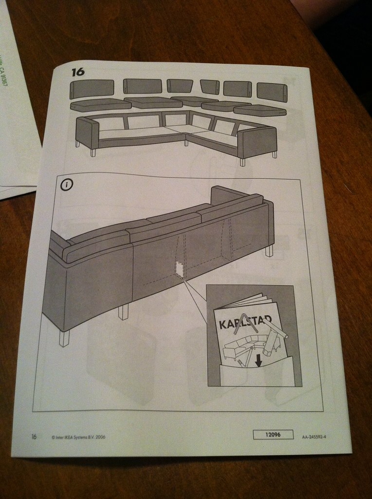 ikea expedit assembly instructions