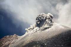 One second after the explosion (hshdude) Tags: indonesia explosion ash volcanoes eruption krakatau