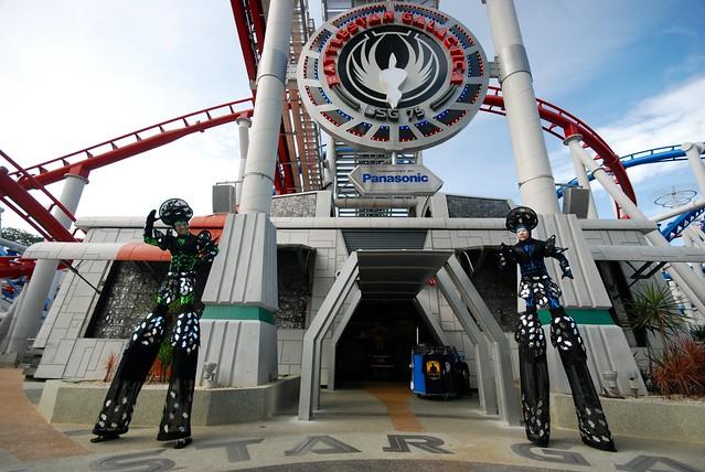 Universal Studios Singapore - Battlestar Galactica