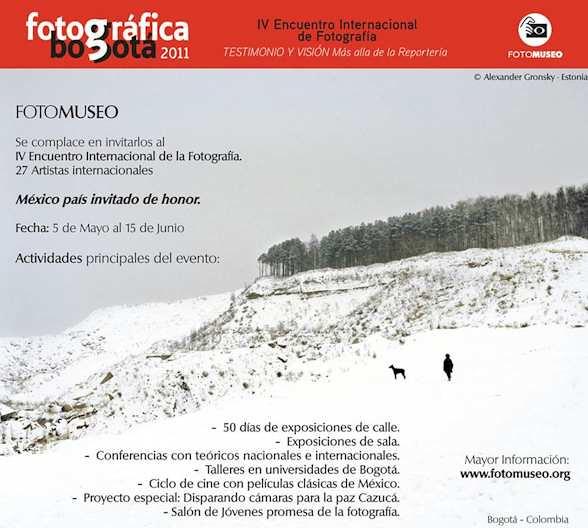 Fotográfica Bogota 2011