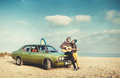 La Historia Terminable (Ibai Acevedo) Tags: winter sea classic ford love cortina beach car night noche la mar surf day guitar muscle dream playa dia wear final coche skate oh melted historia dulce 2012 hydroponic principio amargo beure riure disguts terminable lastim