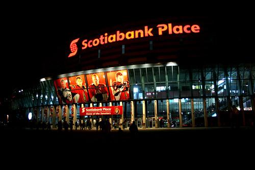Die Heimstätte der Ottawa Senators: Scotiabank Place.