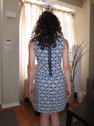 BR dress back view