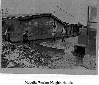 Maquila Workers Neighborhoods