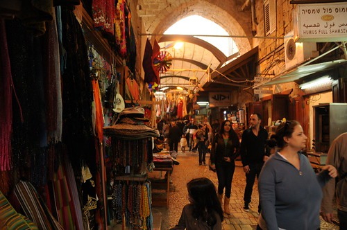 View of the Old City Bazaar