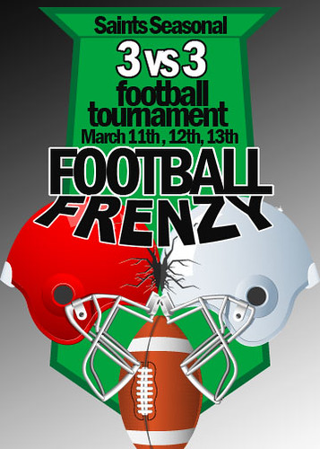 VRFL Saints Seasonal Football Frenzy 3 vs3 tournament