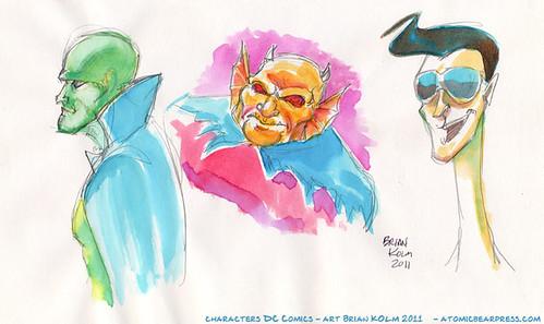 DC Supeheroes 2-2011