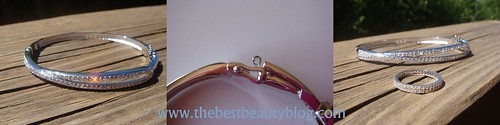 Swarovski, hermine bangle, bling jewellery