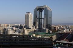 View over Osaka Station