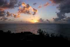 Barbados Sunset (russ david) Tags: ocean sunset lighthouse abandoned st lucy january barbados caribbean 2011