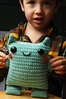 hi (callie callie jump jump) Tags: smile kids burlington toy stuffed vermont crochet humor craft plush yarn fantasy kawaii etsy amigurumi creatures hamdmade urbanfarmgirl erinnsimon