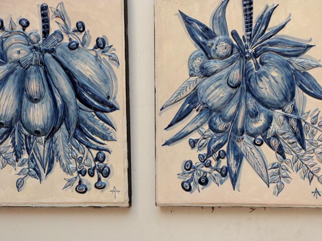 Botanical tiles