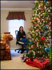 The Lady Decorates (suavehouse113) Tags: family usa mom tennessee christmastree christmaslights livingroom gifts ornaments presents christmasdecorations savannah philscamera momschristmastree focalsoften