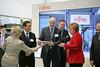 011_CeBIT_Fujitsu_Blog_Merkel_-20110301-100818-3 (Fujitsu_DE) Tags: cebit halle2 erstertag cebit2011 cebit11