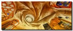Casa Batll. (Barcelona) ( UfoSp@in  Slow ) Tags: barcelona travel espaa color art texture love architecture photoshop photography spain arquitectura panoramic colores ufo textures gaud vacancy calles tratamiento bellezas 2011 photomatrix canon1635l canoneos5dmarkii ufospain