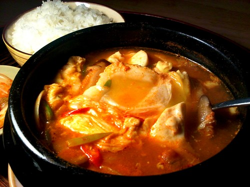 Sundubu Jjigae - Korean Soft Tofu Stew (Recipe) | meemalee