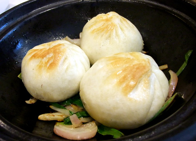 Sizzling Marinated Meat Bao