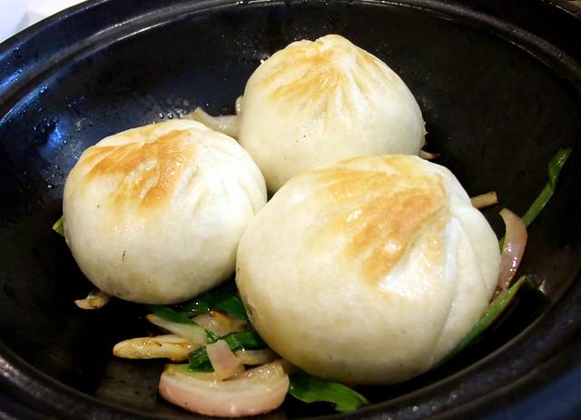 Sizzling Marinated Meat Bao