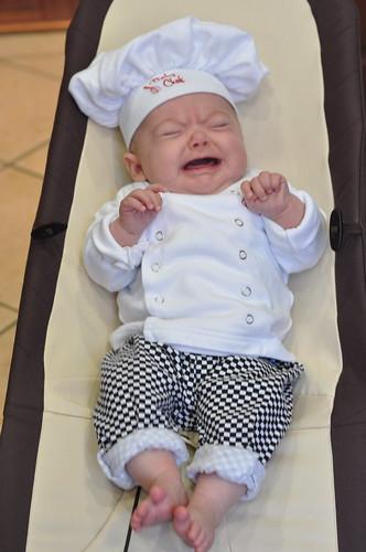 11 weeks baby chef