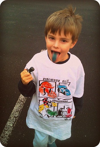 Caden and his Ring Pop by Joe Jon!