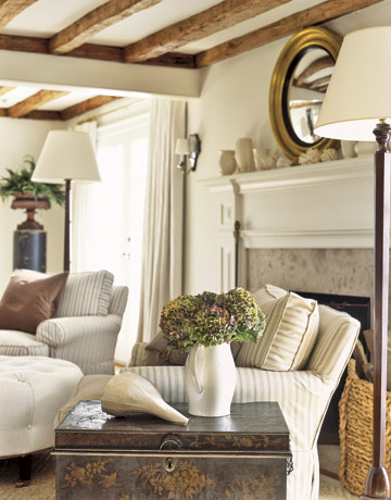 earthy living room country living