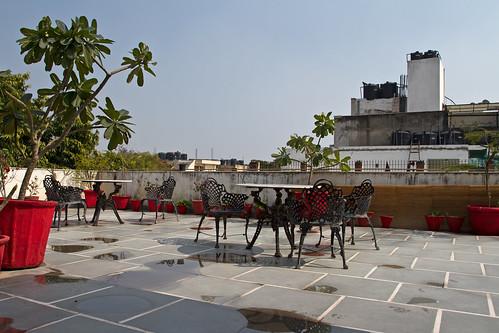 Rooftop terrace @K11, Delhi