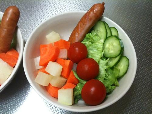 朝食サラダ(2011/3/6)