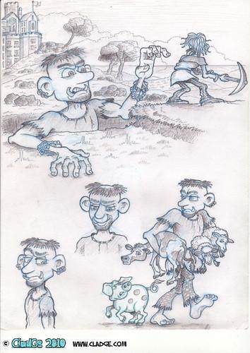 Cormoran - character sheet - pencilled