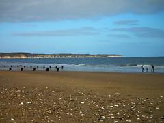 Pebbly Beach (Fraig) Tags: sea beach seaside fuji yorkshire finepix fujifilm bridlington eastyorkshire eastriding hs10 bridgecamera yorkshirewoldscoastline