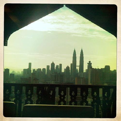Hipstamatised Kuala Lumpur