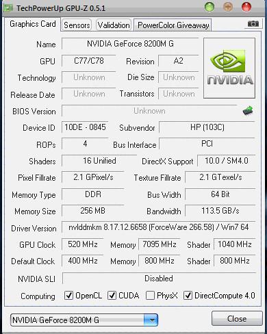 Overclocking GeForce 8200m G is it safe or not? - GeForce Forums