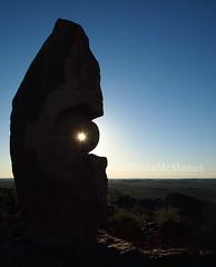 Under the Jaguar Sun (Paula McManus) Tags: sun pen olympus outback brokenhill livingdesert bajoelsoljaguar underthejaguarsun paulamcmanus antonionavatirado epl1 sculpturessymposium