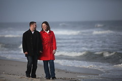 beach walk2 (J Cianfrani Photography) Tags: ocean beach engagement newjersey nj seasideheights blinkagain