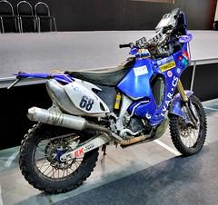 Yamaha WR450F Paris-Dakar 2011 (Jan Veselý) (The Adventurous Eye) Tags: all similar stuff yamaha wr450f parisdakara janveselýmotosalon 2011motosalonmotorcycles