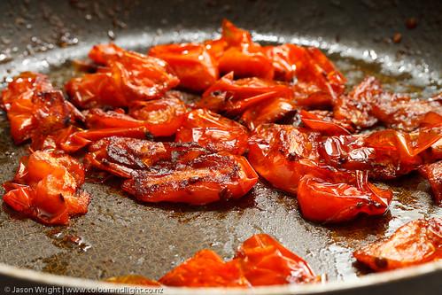 Fresh roast tomato sauce