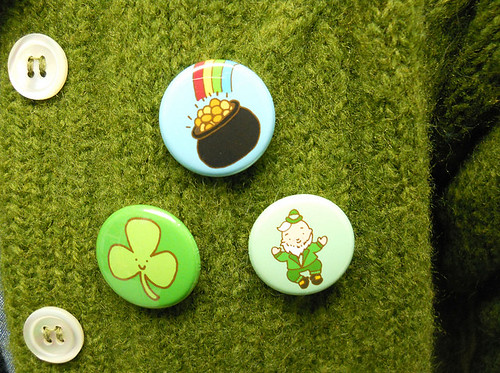 St. Patrick's Day Button Set 1