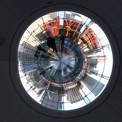 Planet WTC (jankor) Tags: panorama geotagged 360 planet stitched 360 360degree littleplanet 360grad planetepanoramique geo:lat=40712951 geo:lon=74014812