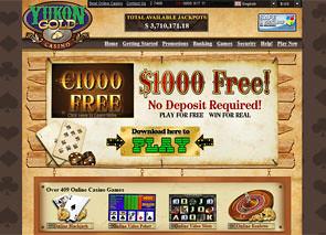 Yukon Gold Casino Home